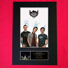 STEREOPHONICS Mounted Signed Photo Reproduction Autograph Print A4 318