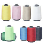 3000 Yards Overlocking Sewing Machine Polyester Thread Cones Sewing Tools MI