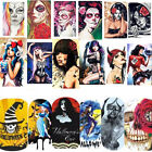 Wraps / Sticker / Tattoo / One Stroke - Halloween / Karneval / Skull - 702