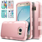 Hybrid Rubber Shockproof Cover Rugged Armor Case for Samsung Galaxy S6/S7 Edge