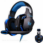 EACH G2000 PC Gamer Headset Stereo Sound 2.2m Wired Headphone with Mic LED Light