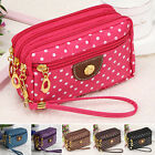 Cloth Zip Fashion Wallet Womens Clutch Card Holder Coin Purse Small Handbag New