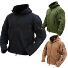 Mens Winter Jacket Winter Tactical Army Fleece Coats Hoodies Outwear Sportwear