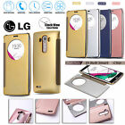 Quick Circle Smart Clock View Window In-Built IC Flip Case Cover For LG G5 G4 G3