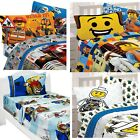 nEw LEGO BLOCKS BED SHEETS SET - Movie Chima City Bedding Sheets Pillowcase