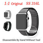 High Quality Link Bracelet 316L Stainless Steel Watch Strap Band For Apple Watch