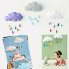 Baby Newborn Photography Props Raining Clouds Water Drop Baby Bed Hanging Toys