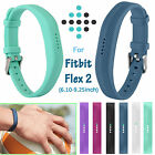 Replacement Wrist Band Clasp Buckle Bracelets Waterproof Strap for Fitbit Flex 2