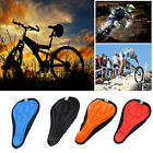 1pc 3D Pad Gel Silicone Cycling Bicycle Bike Saddle Cushion Soft Pad Seat Cover