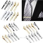 10pc Men's Steel Shirt Necktie Tie Bar Clip Clasp Clamp Pins Business Party Gift