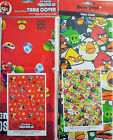 Video Game Kids Party Table Cover Angry Birds or Super Mario Bros.
