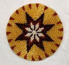 HANDMADE NEW BEADED CRAFT APPLIQUE,PATCH