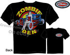 1930 31 Ford Coupe T-shirt PinUp Hot Rods Zombie Den Tee Sz M