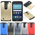 Dual Layer Hybrid Rubber Hard Armor Case Shockproof Protective Slim Cover Skin