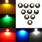 10 x T3 T4.2 T4.7 5050 1 SMD 12V LED Car Instrument Light Gauge Dashboard Lamp