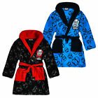 Boys Star Wars Dressing Gown New Kids Storm Trooper Bathrobe Ages 4-10 Years