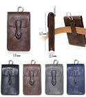 New Universal Vertical Leather Pouch Belt Holster For iPhone 6s/7 Plus/Galaxy S7