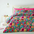 3 Pce Kelly Floral Spring Doona Duvet Quilt Cover Set by Big Sleep - QUEEN KING
