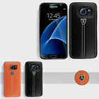 Leather Silicone Hard Back Case Cover For Samsung Galaxy S7 & S7 Edge/ iPhone 6S
