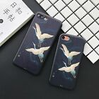 Flying Birds Slimming Pattern Soft TPU Case For Iphone 6 6s 7 Plus Case Cover