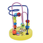 Educational Baby Kids Wooden Around Beads Toddler Infant Intelligence Toy Gift O
