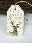 Craft East of India Larger Christmas Gift Tags Labels gift Wrapping