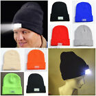 5 LED lighted Cap Winter Warm Beanie Angling Hunting Camping Running Hat Mens