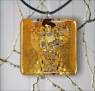 ADELE BLOCH  BAUER BY GUSTAV KLIMT PENDANT NECKLACE 3 SIZES CHOICE -ujt8Z