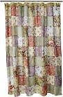 Claremont Collection Blooming Prairie Multi Color Shower Curtain