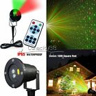 Red&Green Moving Shower Laser Lights Star Projector Xmas Light Show + RF Remote