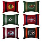 nEw 2pc NHL HOCKEY TEAM PILLOW SHAM SET - Sport League Team Logo Cover Accessory $43.99 USD on eBay