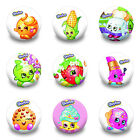 45pcs Shopkins Buttons pins badges,cloth Brooch round Badges 30MM fit kids gifts