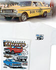 Ford Factory Flyers T-Shirt: S/S Drag Thunderbolt Fairlane Galaxie 500 406 427