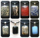 20X27mm,30X40mm Handcrafted pendant  Rectangular Gemstone Bead 1pcs