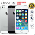 in Sealed Box Factory Unlocked APPLE iPhone 5S 4s Gray Gold Silver 4G Smartphone