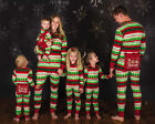 USA Seller Kids Adult Christmas Family Matching Pajamas Set Sleepwear Nightwear