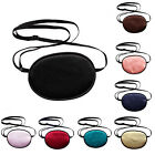 Adult Adjust Strap Medical Use Concave Eye Patch Groove Washable Eyeshades Gift