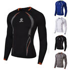 Mens Thermal Compression Base Layer Long Sleeve T-Shirt Tops Tight Sports Wear