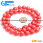 Handmade Pink Coral Birthstone Princess Necklace Fashion Jewelry Free Shiping