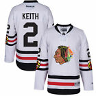 Chicago Blackhawks Mens Duncan Keith Reebok 2017 Winter Classic Premier Jersey