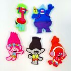 New Cartoon Trolls PVC Shoe Charm for jibz & Wristband Shoe Accessories kid gift