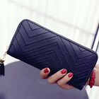 Fashion Womens Leather Clutch Wallet Long Card Holder Case Purse Handbag Gift