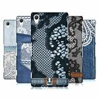 HEAD CASE DESIGNS JEANS AND LACES HARD BACK CASE FOR SONY XPERIA Z2