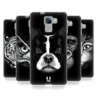 HEAD CASE DESIGNS BIG FACE ILLUSTRATED 2 SOFT GEL CASE FOR HUAWEI HONOR 7
