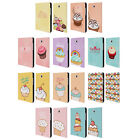 HEAD CASE CUPCAKES HAPPINESS LEATHER BOOK CASE FOR SAMSUNG GALAXY TAB A 8.0