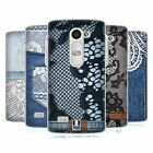 HEAD CASE DESIGNS JEANS AND LACES SOFT GEL CASE FOR LG LEON