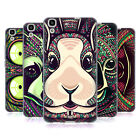 HEAD CASE DESIGNS AZTEC ANIMAL FACES SERIES 5 GEL CASE FOR HUAWEI Y6 HONOR 4A