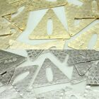 Triangle Metal Beads Pendants Gold Silver beads for Jewelry Making Supplies #238