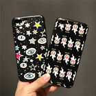 For Iphone 6 6s 7 Plus New Emoji Fashion Cartoon Protective Hard Skin Case Cover
