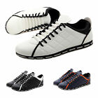 New England Men Casual Loafer Moccasin Sneaker Driving Shoes Zapato Lace Up